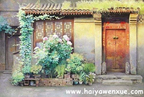 看人间花开花落,看人间春夏秋冬_www.haiyawenxue.com